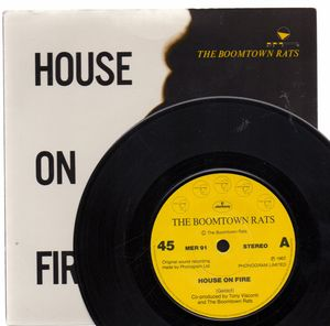 BOOMTOWN RATS, HOUSE ON FIRE / EUROPE LOOKED UGLY