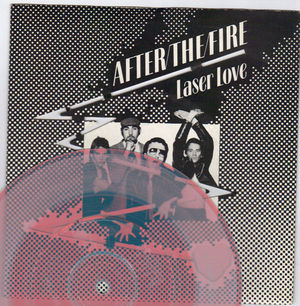 AFTER THE FIRE, LASER LOVE / YOUR LOVE IS ALIVE - ORANGE VINYL