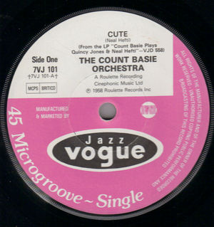 COUNT BASIE, CUTE / LI'L DARLING