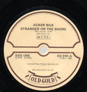 ACKER BILK , STRANGER ON THE SHORE / SUMMER SET