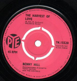 BENNY HILL, THE HARVEST OF LOVE / BAMba 3688