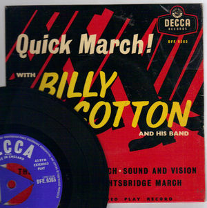 BILLY COTTON, QUICK MARCH - EP