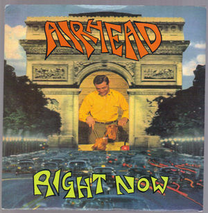 AIRHEAD, RIGHT NOW / COUNTING SHEEP