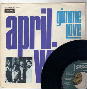 APRIL WINE, GIMME LOVE / APRIL WINE