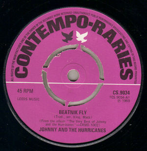 JOHNNY & THE HURRICANES , BEATNIK FLY / CORN BREAD