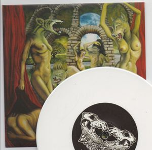 BEARD OF WOLVES, WET MOUTH / DEAD HEART - WHITE VINYL