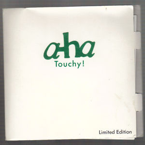 A-HA , TOUCHY! / HURRY HOME - fold out picture envelope