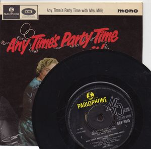 MRS MILLS, ANY TIME PARTY TIME - EP