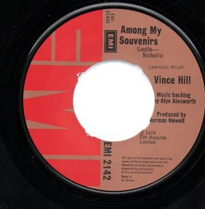 VINCE HILL, AMONG MY SOUVENIRS / IN THE EYES OF A CHILD