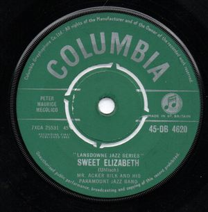 ACKER BILK , SWEET ELIZABETH / PRETTY BOY