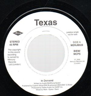 TEXAS , IN DEMAND / SUNSHIP MIX
