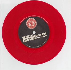 OFFICIAL MANCHESTER UNITED FAN CLUB, OFFICIAL MANCHESTER UNITED FAN CLUB - red vinyll