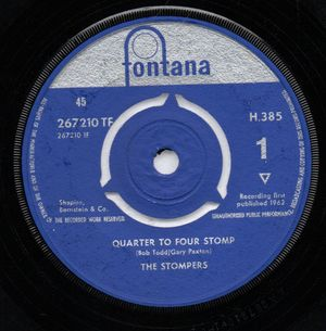 STOMPERS, QUARTER TO FOUR STOMP / FOOLISH ONE