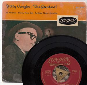 BILLY VAUGHN, THE GREATEST - EP