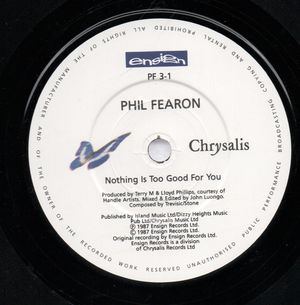 PHIL FEARON  , NOTHING IS TOO GOOD FOR YOU / YOU STILL GOT MY LOVE