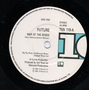 FUTURE, WAR OF THE ROSES / MAIN ATTRACTION