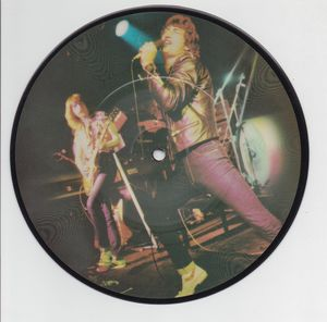 GRAND PRIX, LIFE ON THE LINE / KEEP ON BELIEVING - picture disc