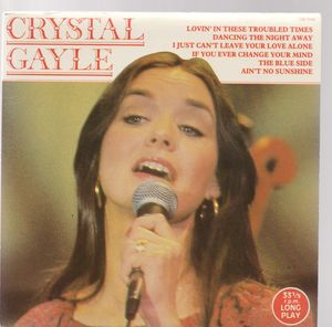CRYSTAL GAYLE , LONG PLAY EP - (33RPM)