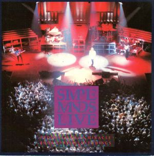 SIMPLE MINDS , PROMISED YOU A MIRACLE (LIVE) / BOOK OF BRILLIANT THINGS