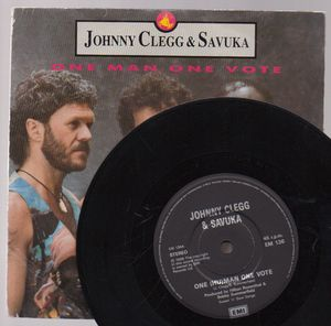 JOHNNY CLEGG & SAVUKA, ONE (HU)MAN ONE VOTE / VEZANDLEBE