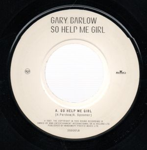 GARY BARLOW, SO HELP ME GIRL / A MULLION TO ONE