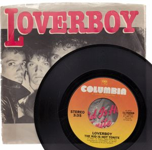LOVERBOY , THE KID IS HOT TONITE / TEENAGE OVERDOSE