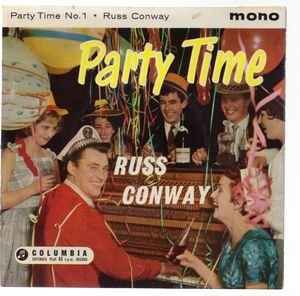RUSS CONWAY, PARTY TIME - NO 1 - EP