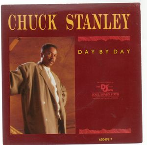 CHUCK STANLEY, DAY BY DAY / THE FINER THINGS IN LIFE - looks unplayed