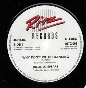BILLIE JO SPEARS, WHY DONT WE GO DANCING / WRONG ROAD AGAIN