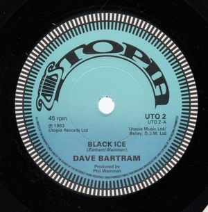 DAVE BARTRAM, BLACK ICE / EXCITMENT - looks unplayed