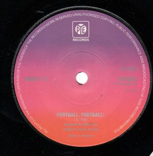 ORIENT FC, FOOTBALL FOOTBALL / WE THE KINGS OF ORIENT - looks unplayed