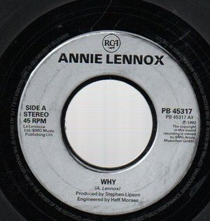 ANNIE LENNOX, WHY / PRIMITIVE