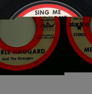 MERLE HAGGARD , SING ME BACK HOME / LEGEND OF BONNIE AND CLYDE