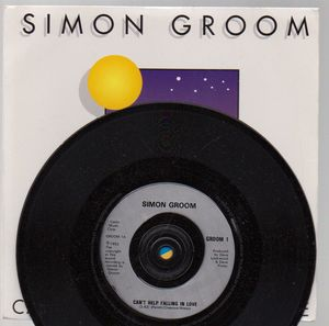 SIMON GROOM, CANT HELP FALLING IN LOVE / GOLDIE