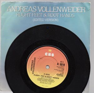 ANDREAS VOLLENWEIDER, FLIGHT FEET % ROOT HANDS / THE WOMAN AND THE STONE