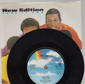 NEW EDITION , COOL IT NOW / sing a long version