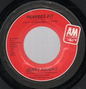 JERRY KNIGHT, PERFECT FIT / LET ME BE THE REASON