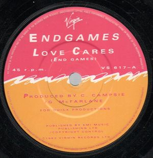 END GAMES, LOVE CARES / READY OR NOT