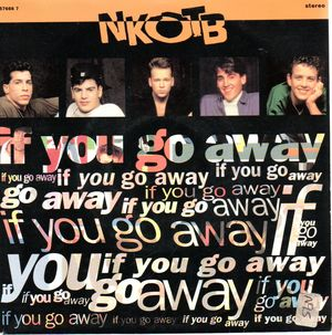 NEW KIDS ON THE BLOCK , IF YOU GO AWAY / CALL IT WHAT YOU WANT