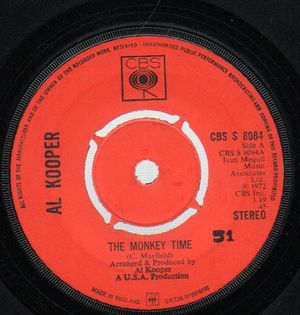 AL KOOPER, THE MONKEY TIME / BENDED KNEES (Please Don't Leave Me Now)