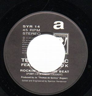 TECHNOTRONIC FEATURING YA KID K, ROCKIN' OVER THE BEAT / RAW