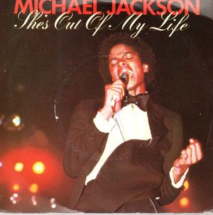 MICHAEL JACKSON, SHE'S OUT OF MY LIFE / PUSH ME AWAY (by The Jacksons - from 'Destiny' LP)